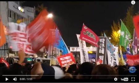 【動画】韓国で史上最大の朴大統領退陣要求デモ、16万人規模 なぜかJR東労組も参加!? [嫌韓ちゃんねる ~日本の未来のために~ 記事No13444