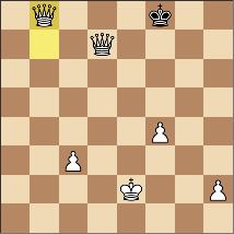 タイブレーク4戦目。46手で黒勝ち