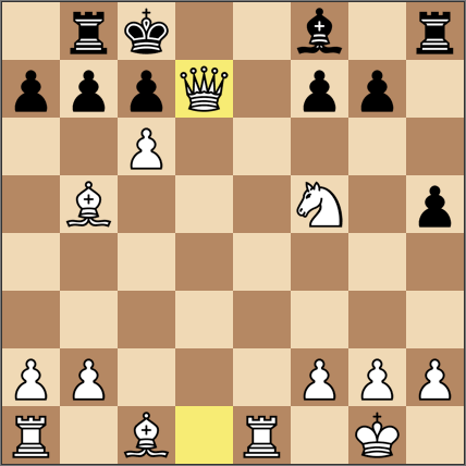 対chess入門βLv4。16手で勝利