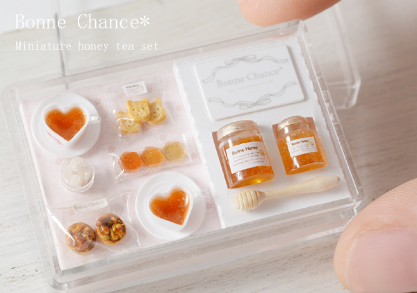 Miniature honey tea set2