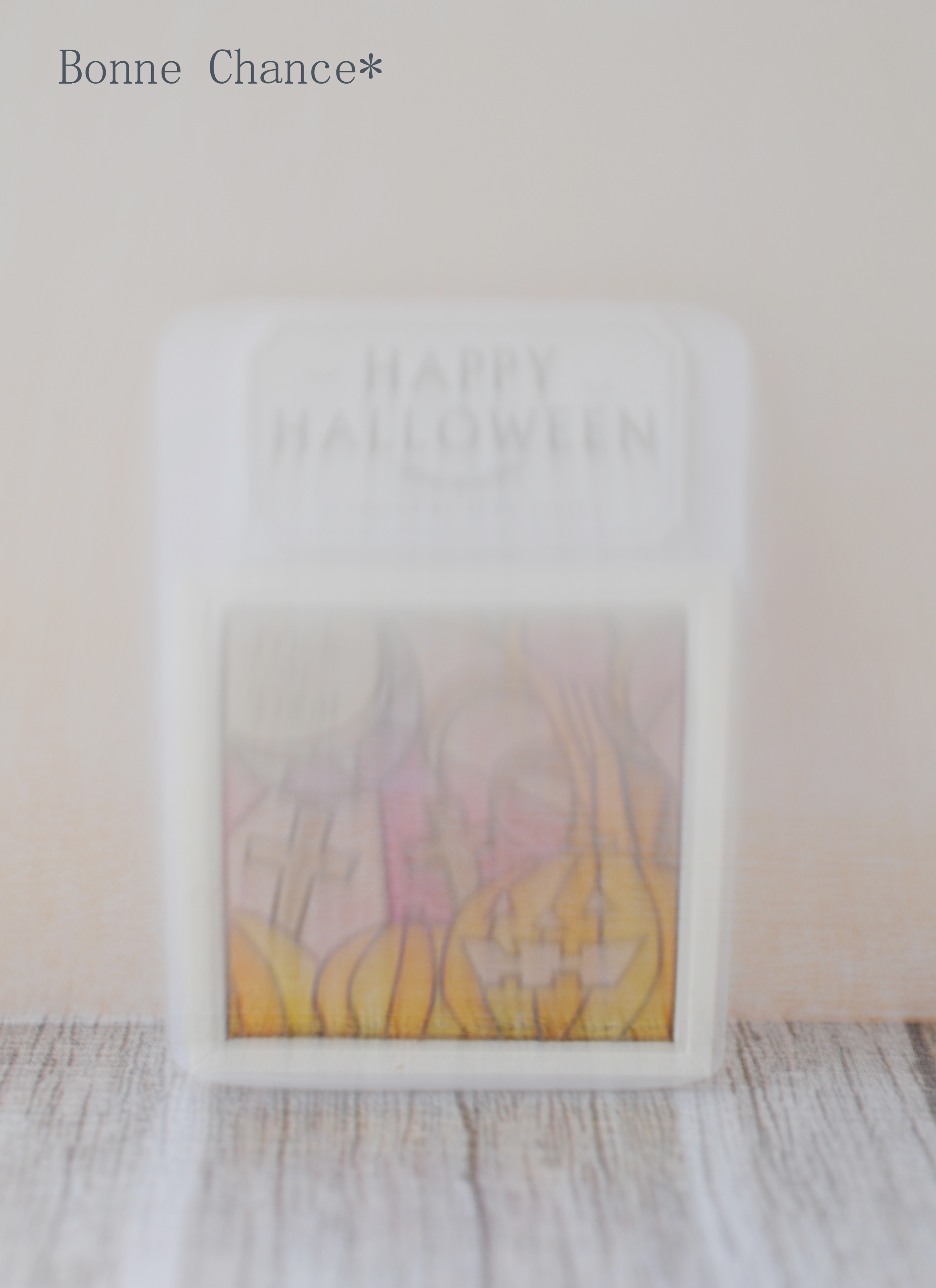Miniature Halloween stained glass