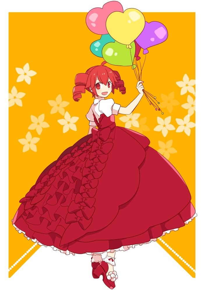 赤いドレスの少女_yosiki59_201610171744