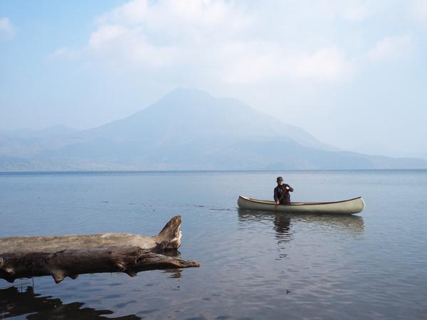 支笏湖とカナディアンカヌー13