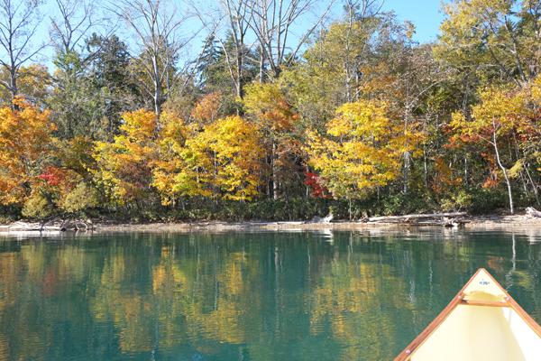 支笏湖とカナディアンカヌー18