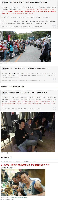 おチョンコ組の高橋こと添田が起訴される