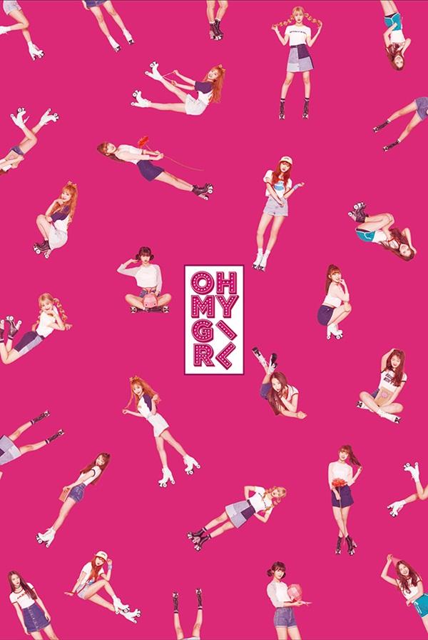 oh my girl pink ocean