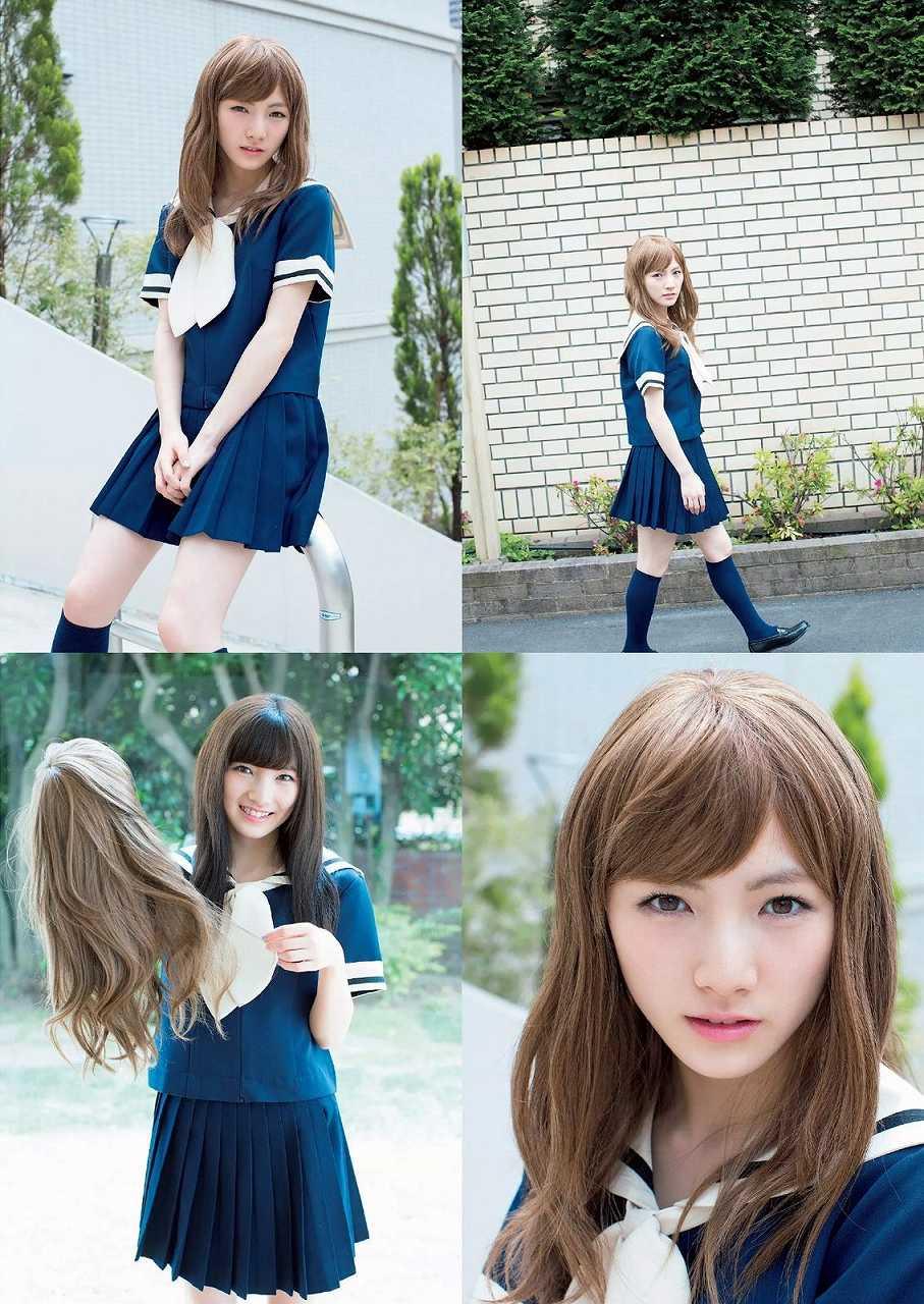 「週刊プレイボーイ 2015 No.26」岡田奈々のグラビア