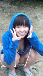 欅坂46・今泉佑唯がジュニアアイドル時代に柏木佑井の名で出したDVD「ゆいふるの休日」オフショットおっぱい谷間