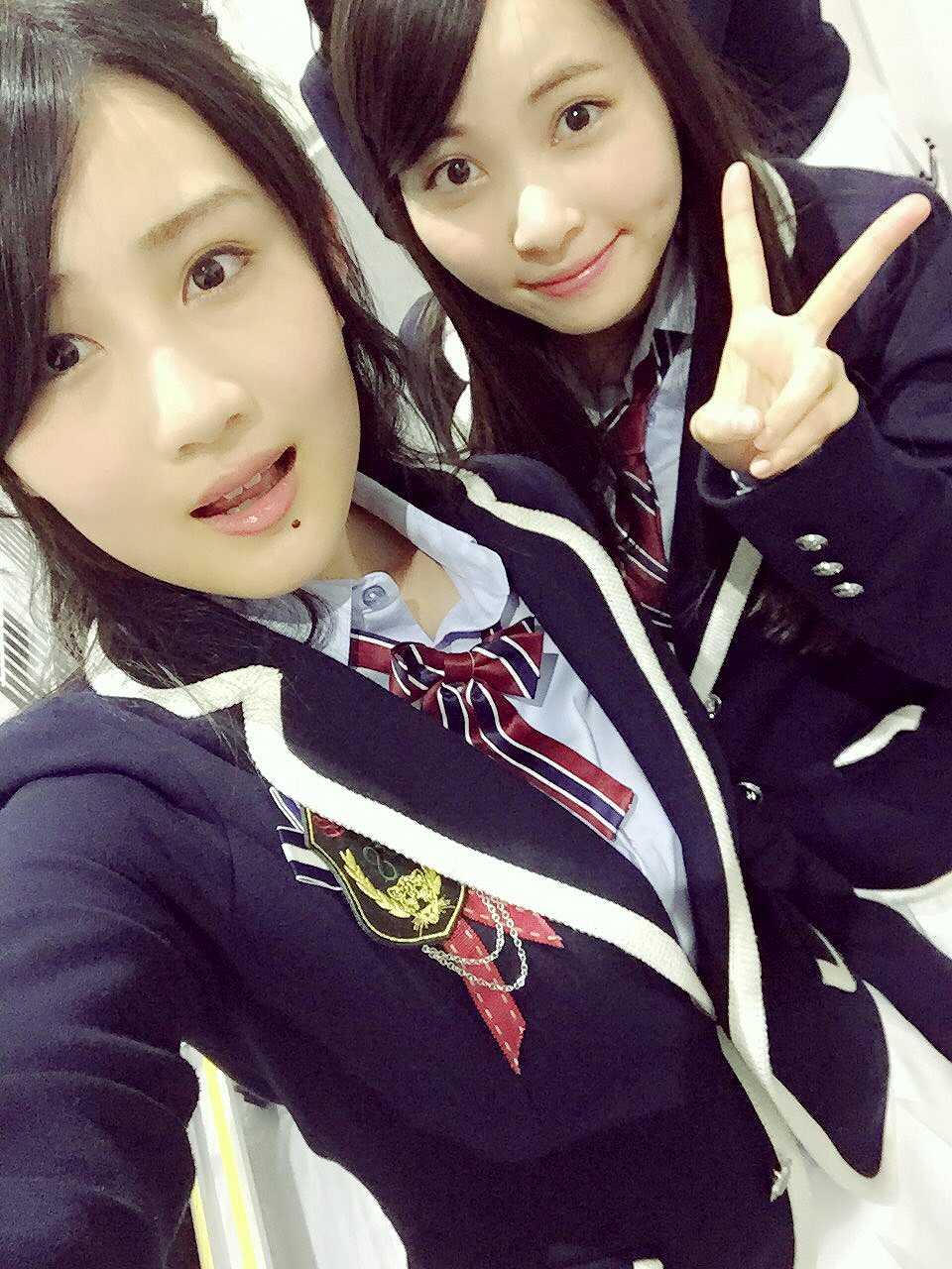 NMB48・久代梨奈の自撮り画像