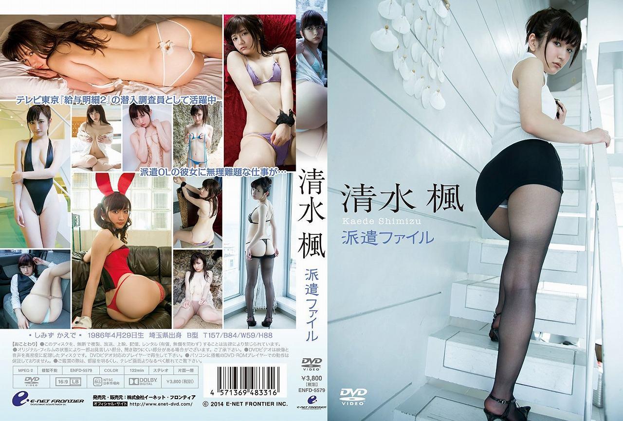 清水楓のDVD「派遣ファイル」パッケージ写真