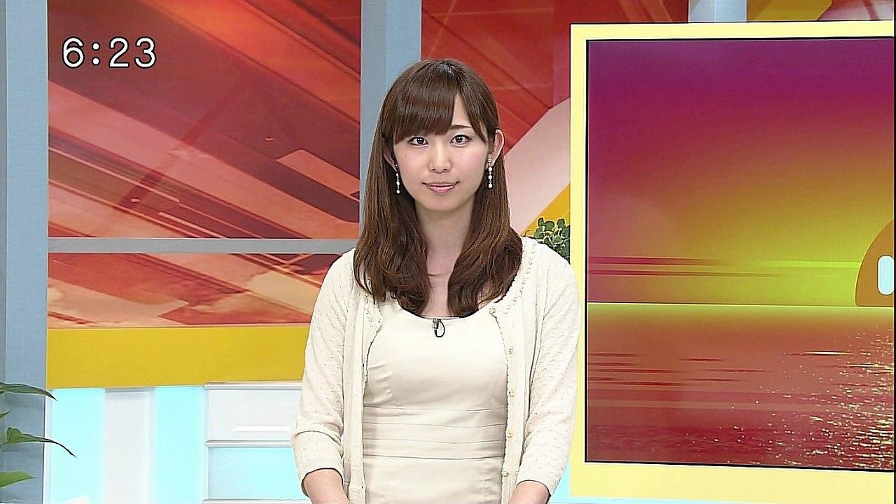 秋田朝日放送女子アナ時代の塩地美澄