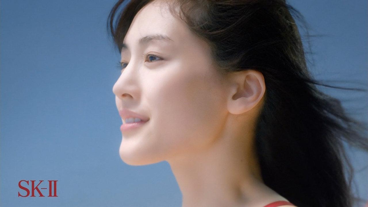 「SK-Ⅱ 運命よりも、きれいになろう。~運命を変える一歩~篇」の綾瀬はるか