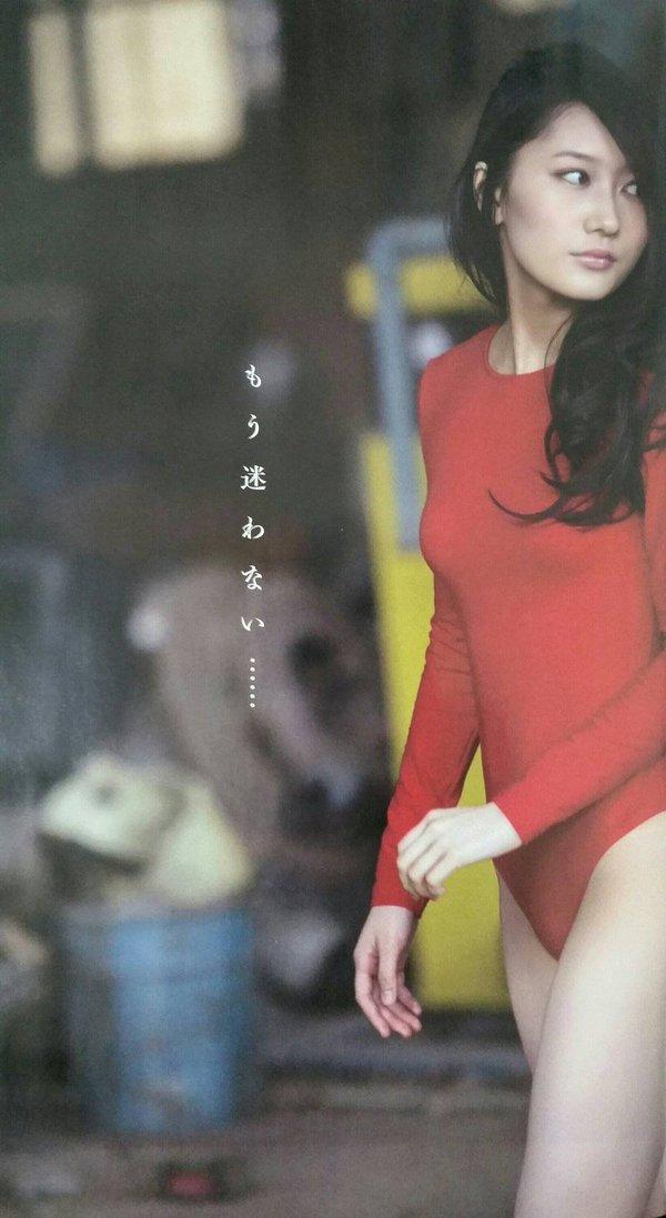 矢倉楓子のレオタードグラビア