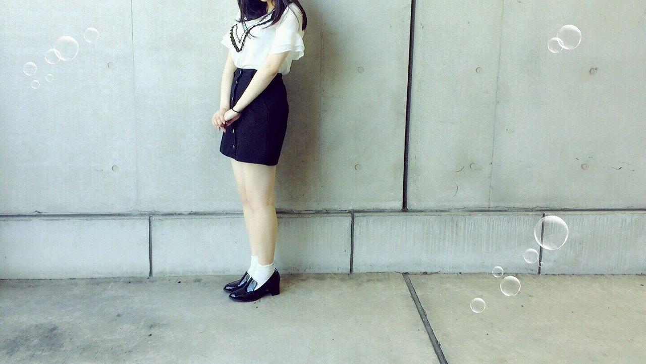 HKT48・田中優香の着衣横乳