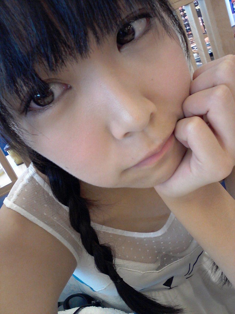 白間美瑠の自撮り画像