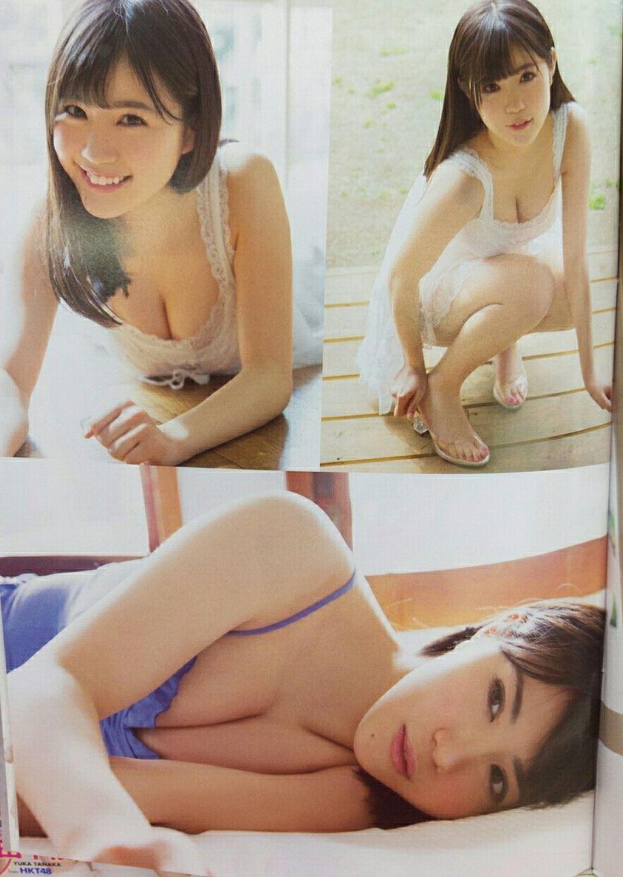 「ヤングアニマル 2016年 5/27 号」HKT48・田中優香のおっぱいグラビア