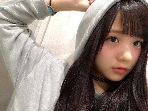 稲場愛香の自撮り画像