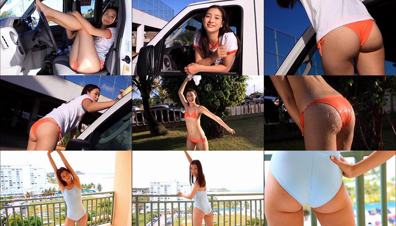 足立梨花のイメージビデオキャプチャ画像