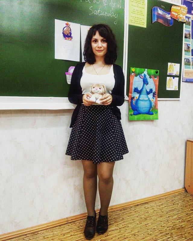 エロすぎるロシアの女教師