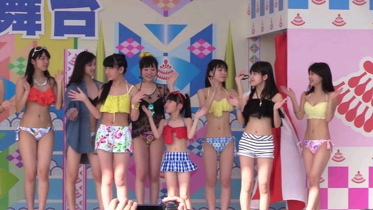博多どんたく港祭り2016のアイドル水着ファッションショー