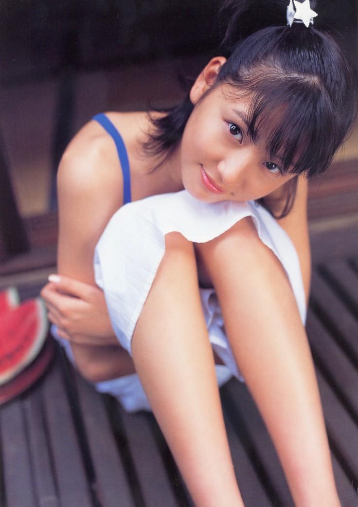 デビュー頃の長澤まさみの写真集画像