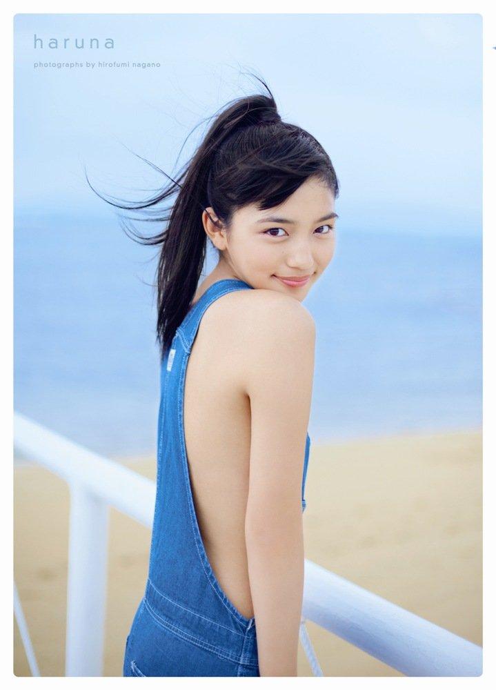 川口春奈 ファースト写真集「haruna」