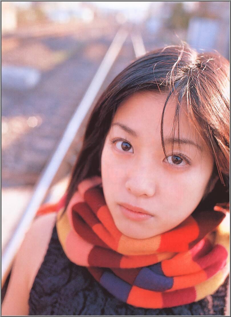 全盛期の小向美奈子のグラビア