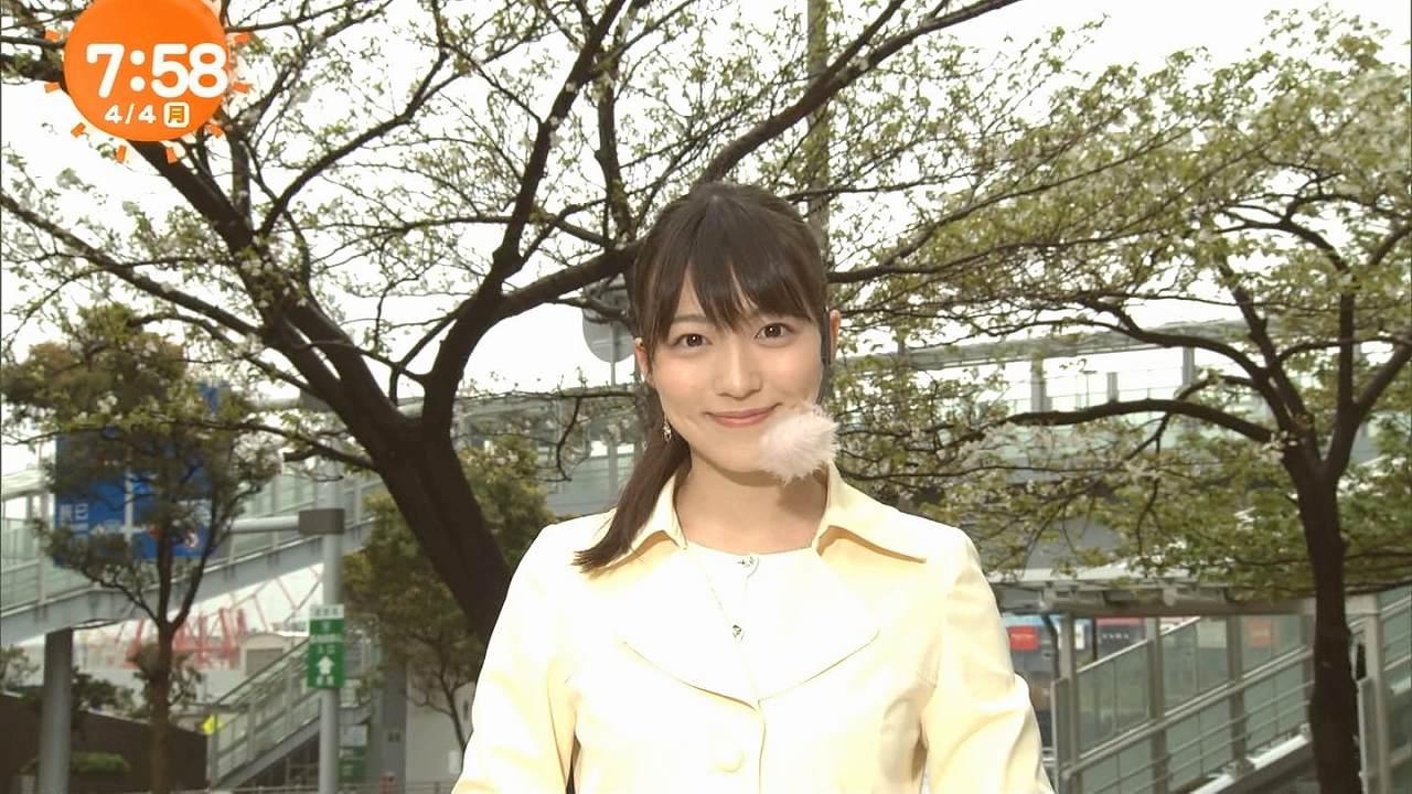 フジテレビ「めざましテレビ」の阿部華也子