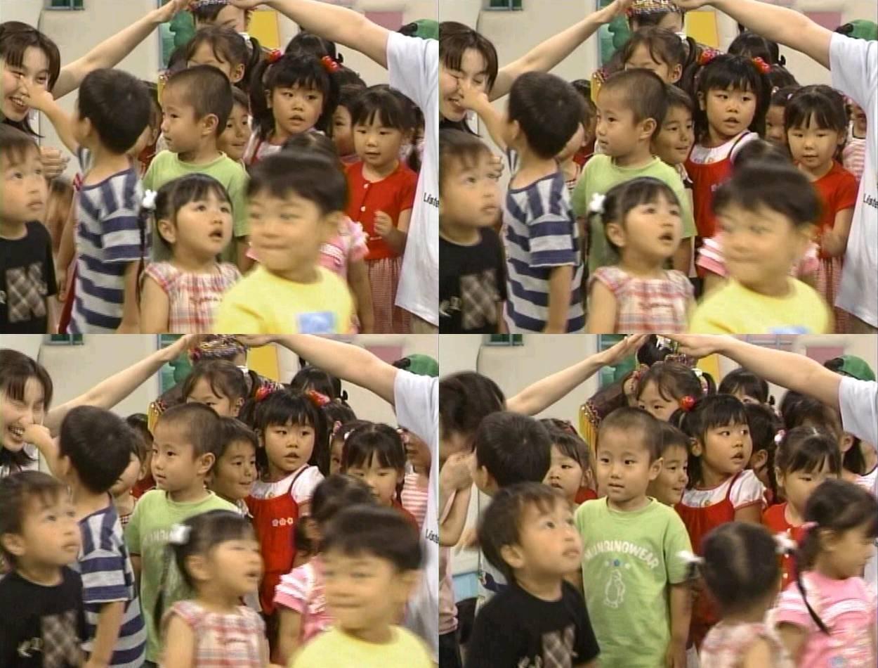 テレビ出演した男児に目をつつかれるうたのおねえさん