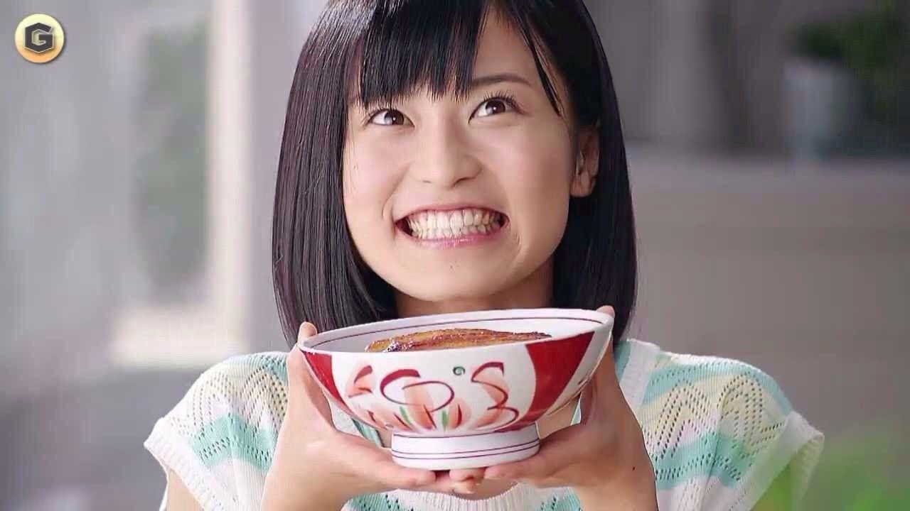 永谷園・松茸の味お吸いもののCMの小島瑠璃子
