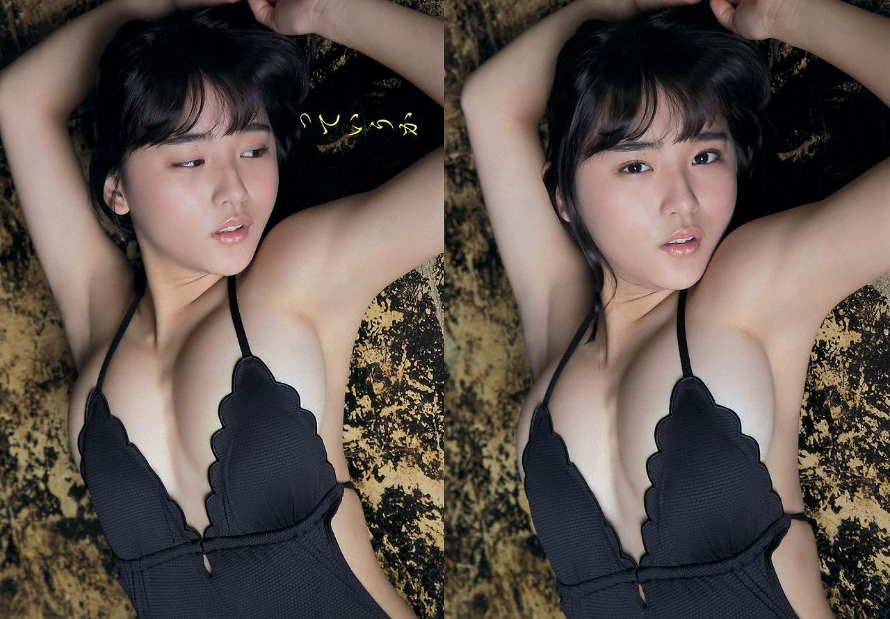 SUPER☆GiRLSの浅川梨奈の変態水着グラビア