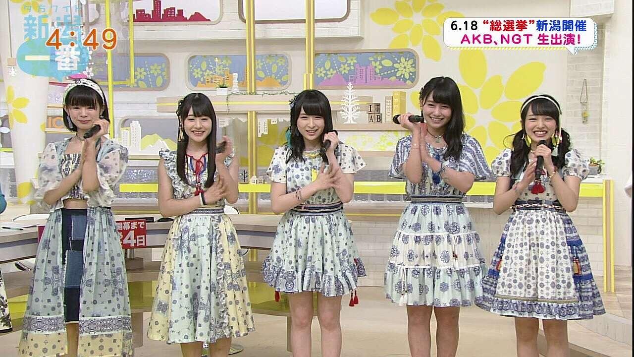 AKB48の川本紗矢、横山由依、向井地美音ら
