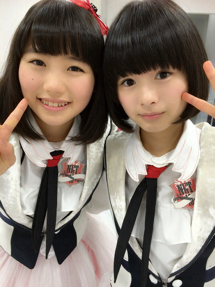 NGT48・小熊倫美と高倉萌香のツーショット