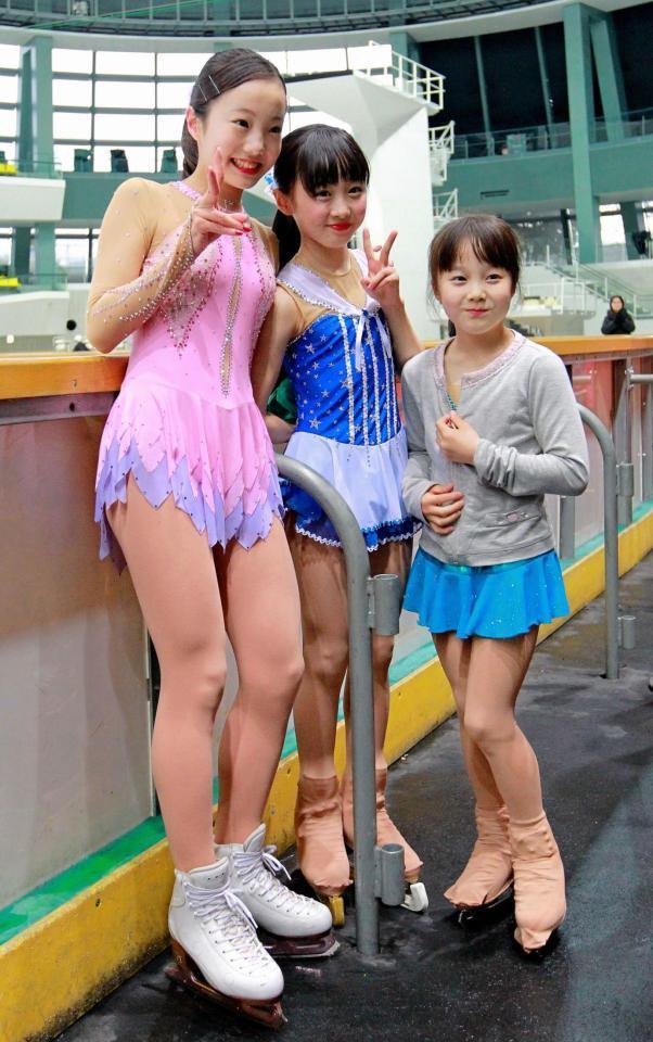 フィギュアスケートの本田真凜、本田望結、本田紗来姉妹