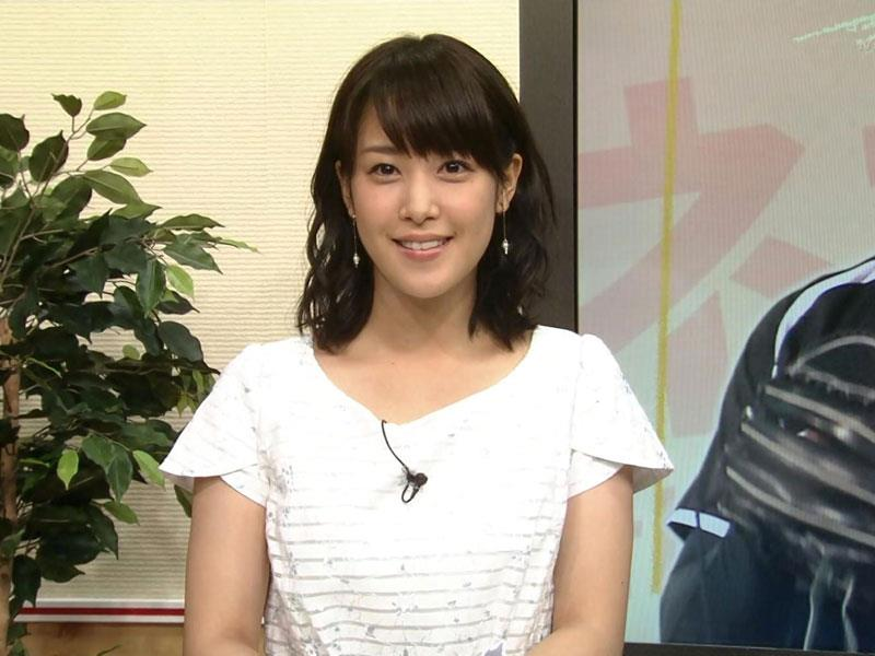 テレビ東京の爆乳女子アナ、鷲見玲奈