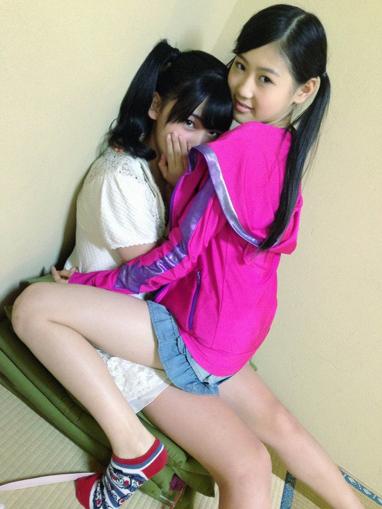 清井咲希と西野未姫の百合画像