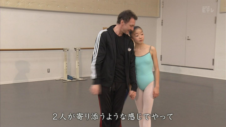 NHK・Eテレ、レオタードでバレエをするJC(女子中学生)