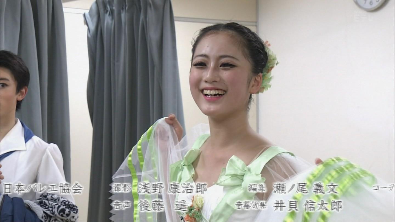 NHK・Eテレ、レオタードでバレエをした可愛いJC
