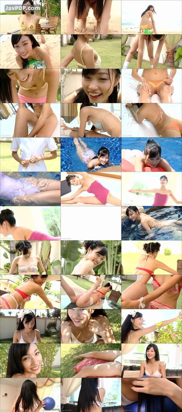 小林かれんのイメージビデオDVD「恋にかれん」キャプチャ画像