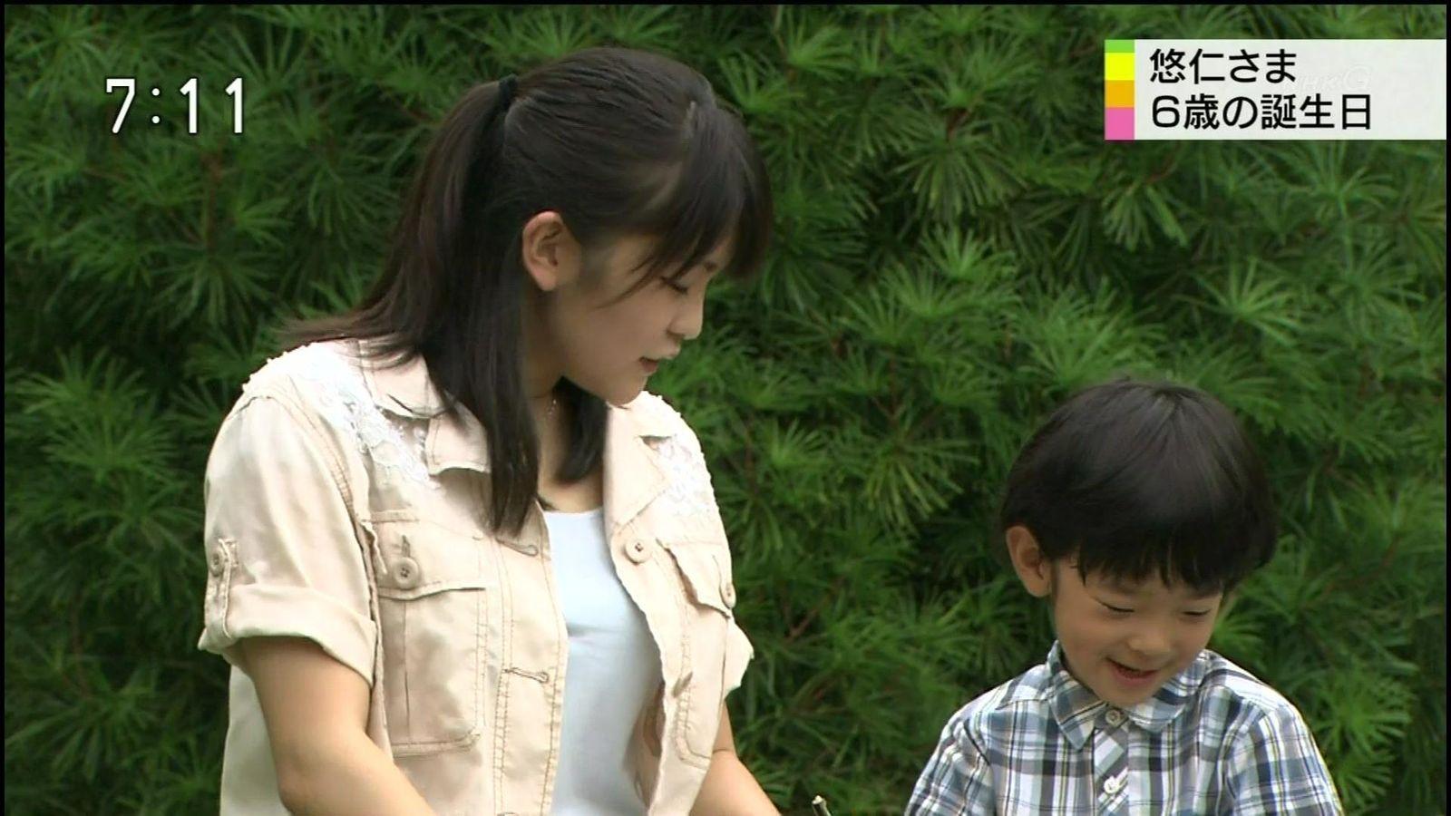 Tシャツを着た眞子さまの着衣巨乳