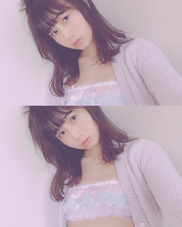 ミスiD2015のファイナリスト、モデルの増澤璃凜子(増澤璃凜子の下着姿自撮り画像)