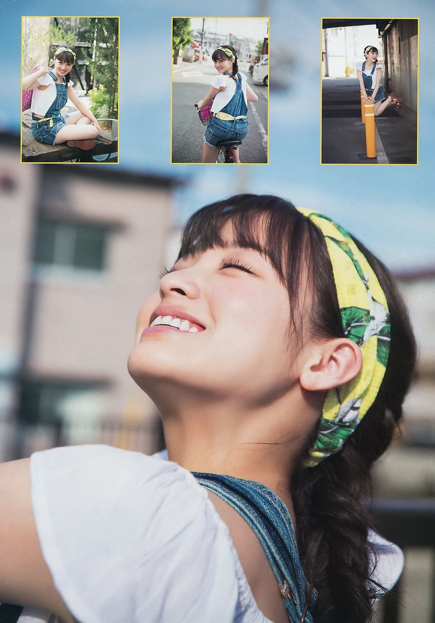 「ヤングマガジン 2016年 7/18 号」橋本環奈のグラビア