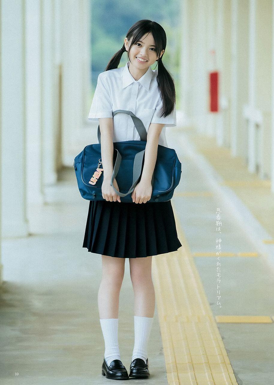 「週刊ヤングジャンプ 2015 No.28」齋藤飛鳥の制服グラビア