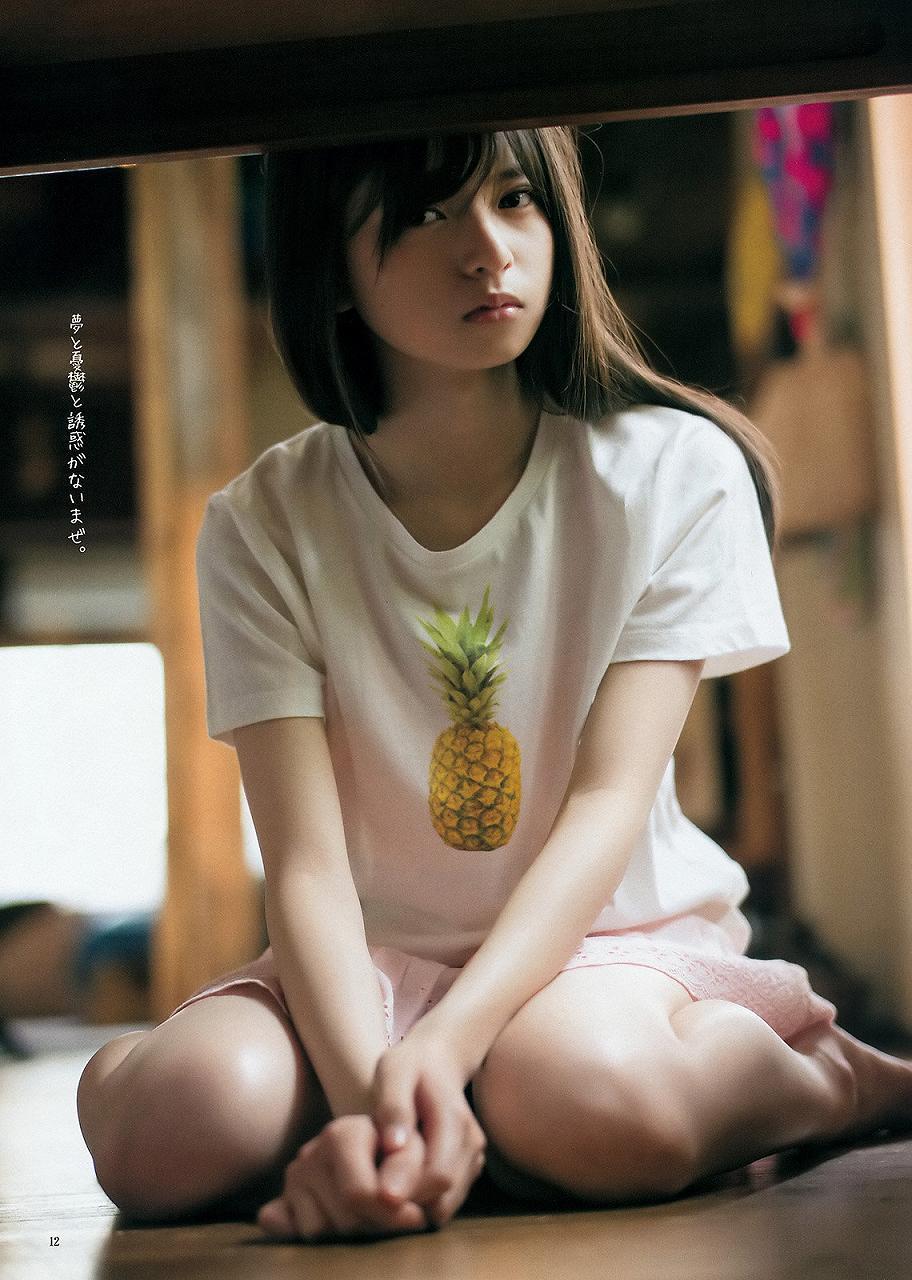 「週刊ヤングジャンプ 2015 No.28」齋藤飛鳥のグラビア