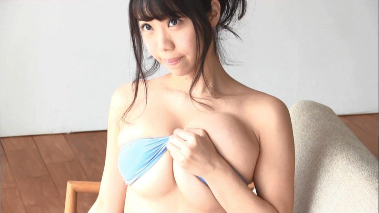 「ヤングチャンピオン 2016 No.12」鈴木ふみ奈の付録DVDキャプチャ画像