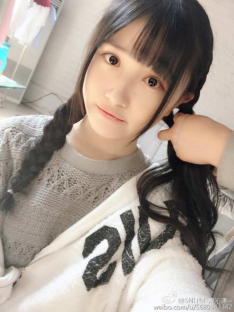 SNH48の可愛いアイドル