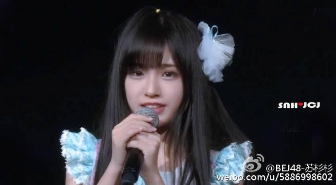 BEJ48の可愛いアイドル