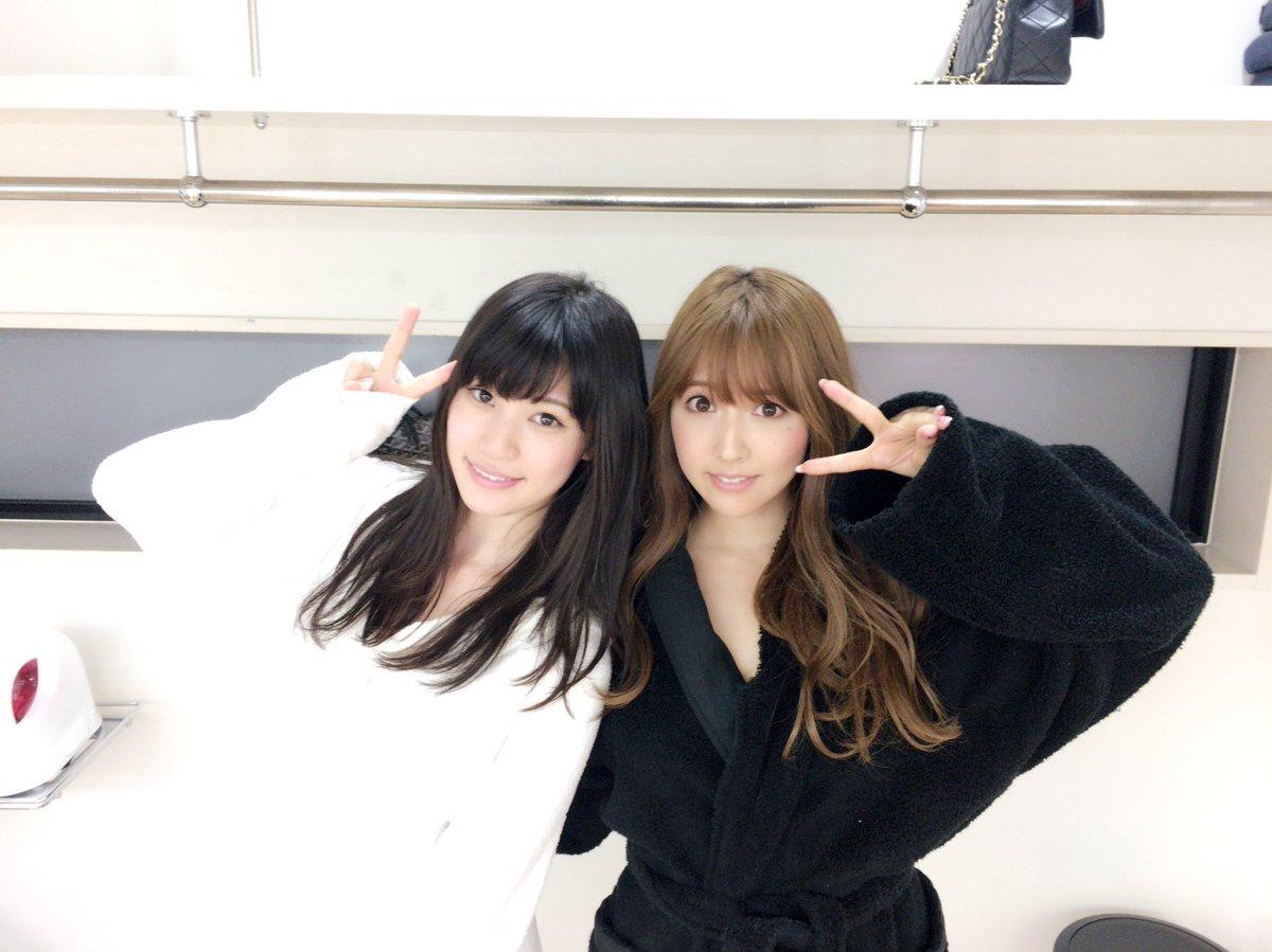 AV女優・三上悠亜と高橋しょう子のツーショット