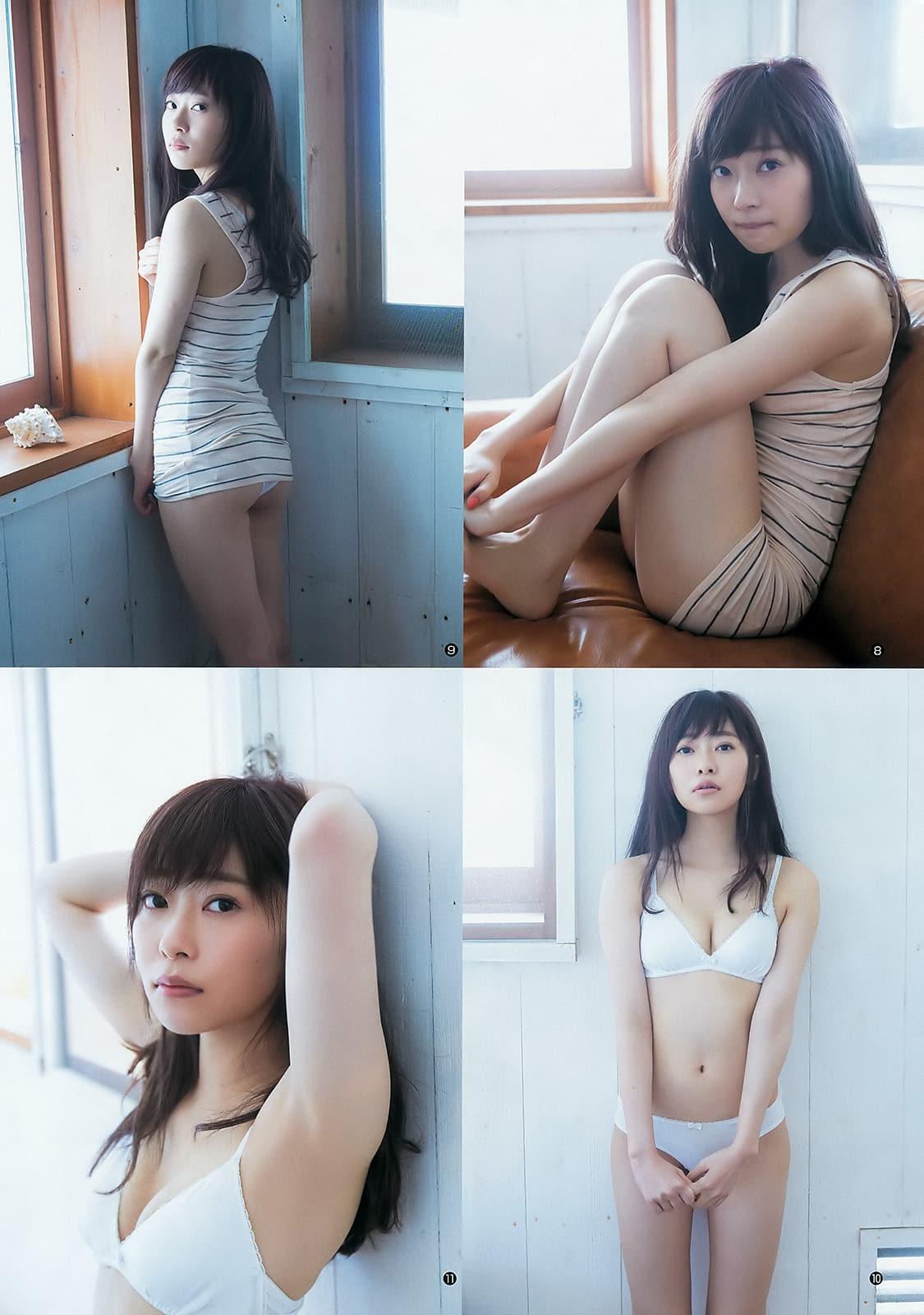 「ヤングジャンプ 2016年 6/30 号」指原莉乃の水着グラビア