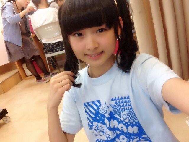 AKB48・達家真姫宝の自撮り画像